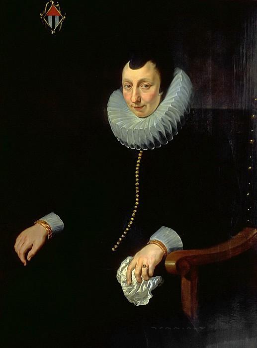 Портрет Сары Брейль, жены Рогира Кларисса. Peter Paul Rubens