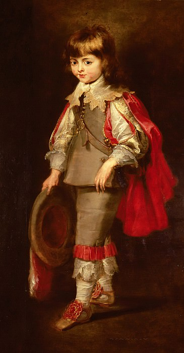 Портрет сына художника. Peter Paul Rubens