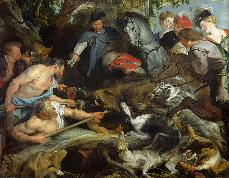 Охота на кабана. Питер Пауль Рубенс