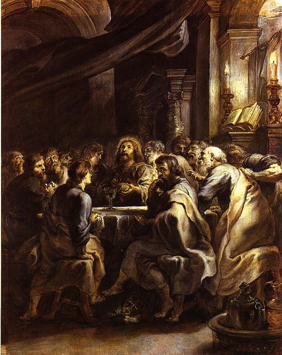 The Last Supper - 1632. Peter Paul Rubens
