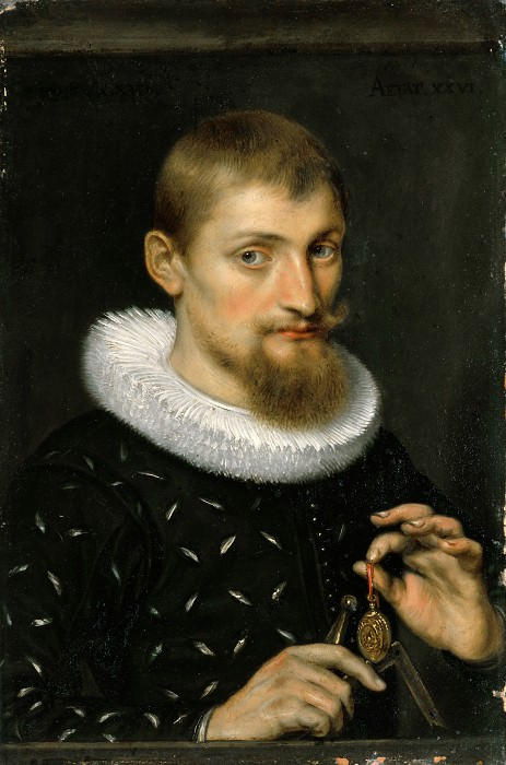 Portrait of a Young Scholar - 1597. Peter Paul Rubens