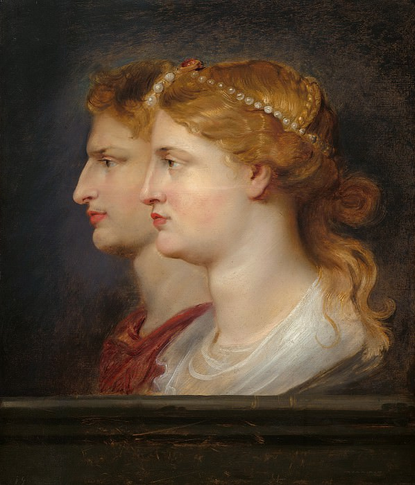 Agrippina and Germanicus - 1614. Peter Paul Rubens