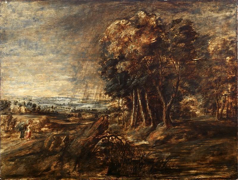 Landscape --. Peter Paul Rubens