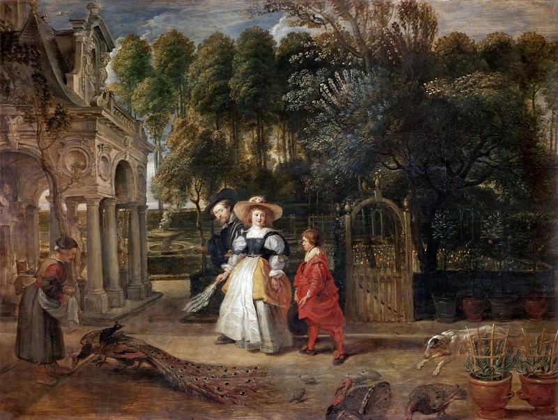 Rubens Rubens In His Garden With Helena Fourment. Peter Paul Rubens