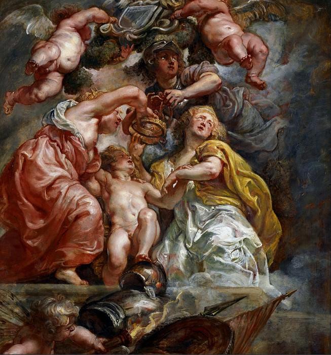 Союз Англии и Шотландии. Peter Paul Rubens