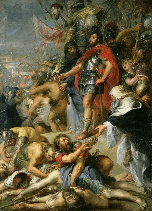 Триумф Иуды Маккавея. Peter Paul Rubens