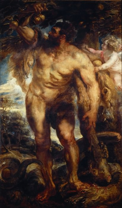 Peter Paul Rubens -- Hercules in the Garden of the Hesperides. Peter Paul Rubens
