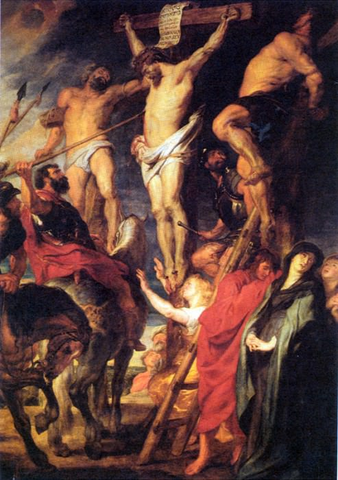 Strike with a Lance. Peter Paul Rubens