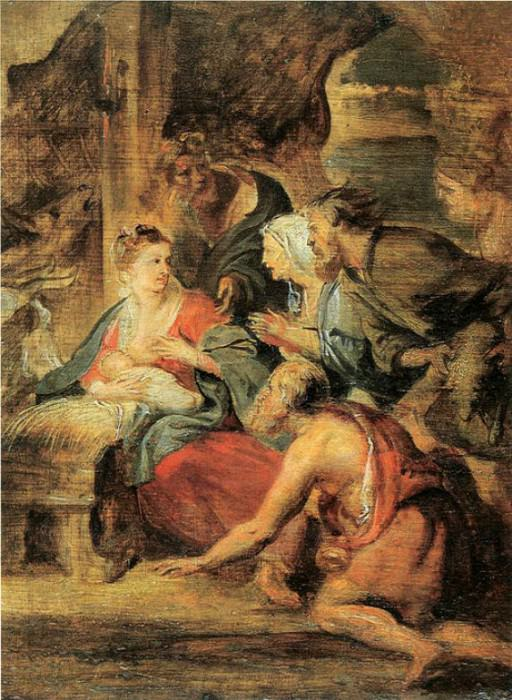 Adoration of the Shepherds - 1621 - 1622. Peter Paul Rubens