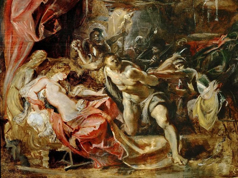 Peter Paul Rubens -- Samson and Delilah. Peter Paul Rubens
