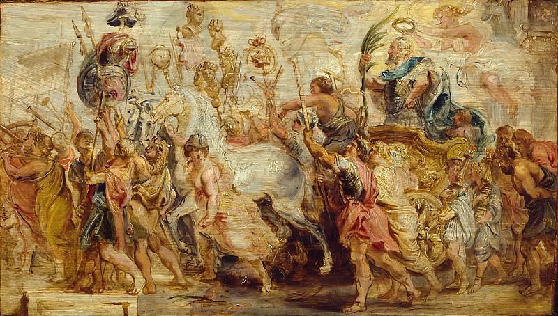 Триумф Генриха IV. Peter Paul Rubens
