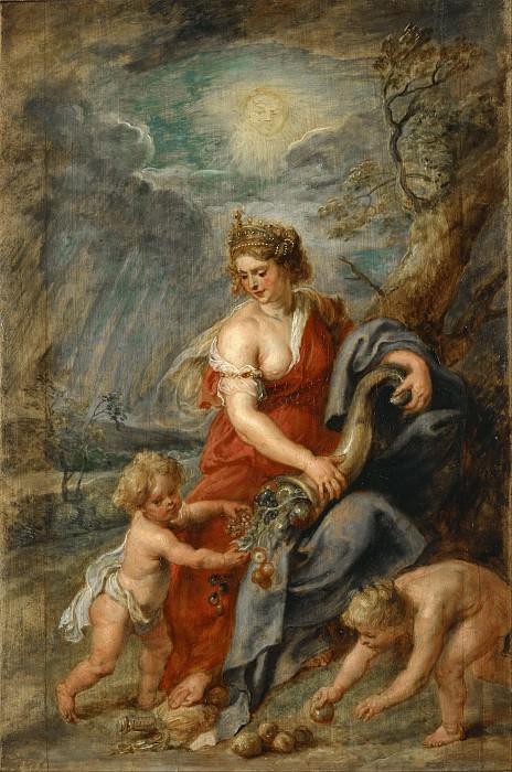 Рог изобилия. Peter Paul Rubens
