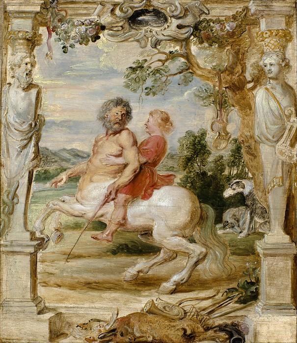 Ахиллес и кентавр Хирон. Peter Paul Rubens
