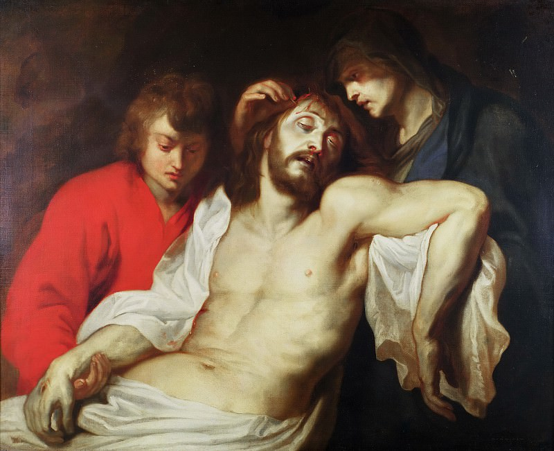 Оплакивание Христа Девой Марией и святым Иоанном. Peter Paul Rubens