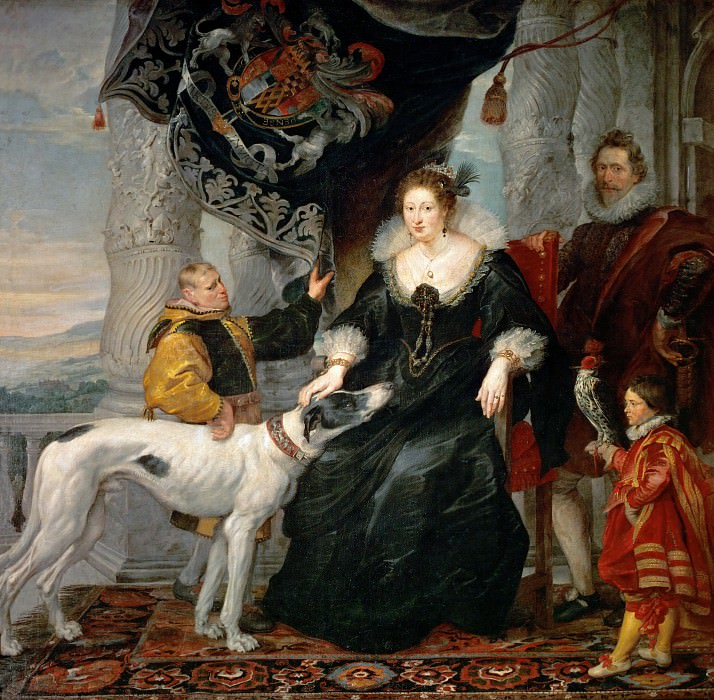 Portrait of Lady Arundel with her Train - 1620. Peter Paul Rubens