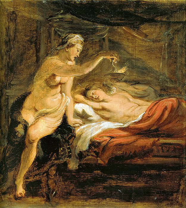 Amor and Psyche. Peter Paul Rubens