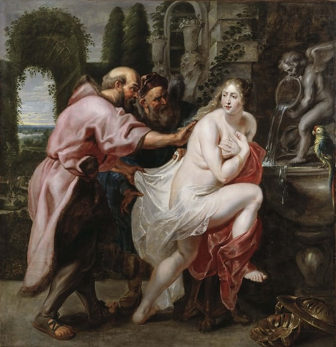 Susanna and the Elders. Peter Paul Rubens (After)
