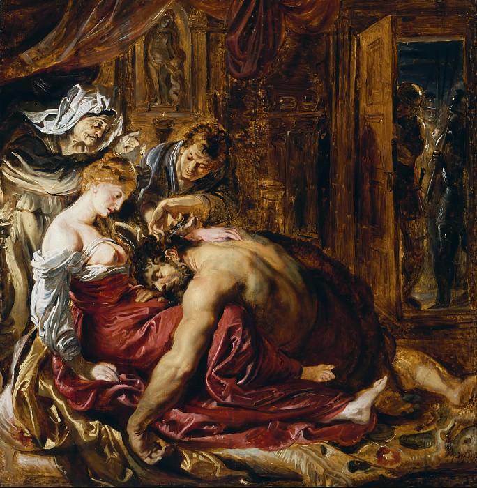 Самсон и Далила, эскиз. Peter Paul Rubens