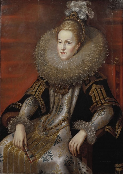 Isabella Klara Eugenia (1566-1633), Princess of Spain Archduchess of Austria. Peter Paul Rubens (After)