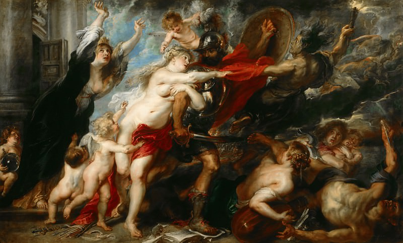 The Consequences of War - 1637 -1638. Peter Paul Rubens