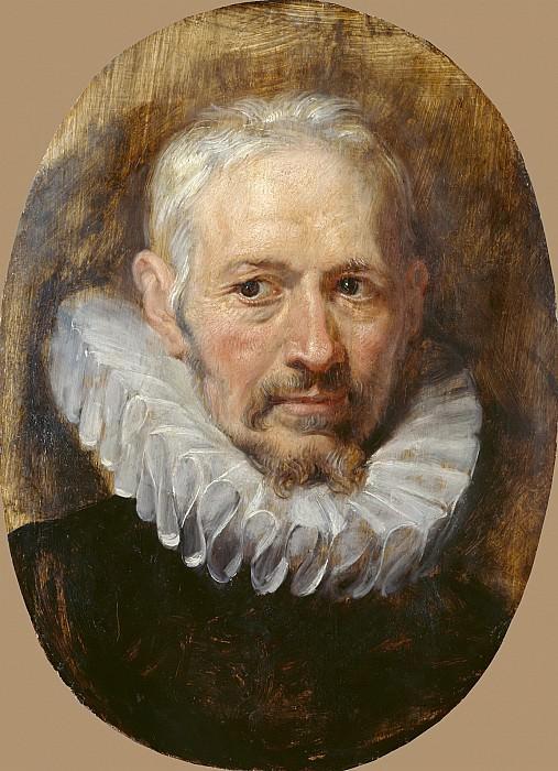 Head of an Old Man. Peter Paul Rubens