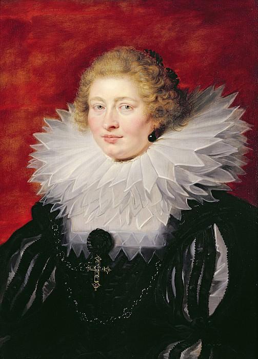 Портрет мадам де Вик. Peter Paul Rubens