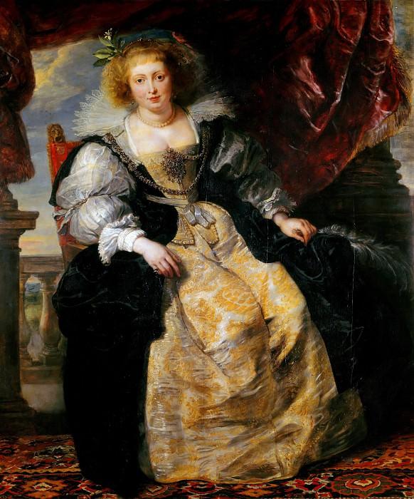 Helena Fourment - ок 1631. Peter Paul Rubens