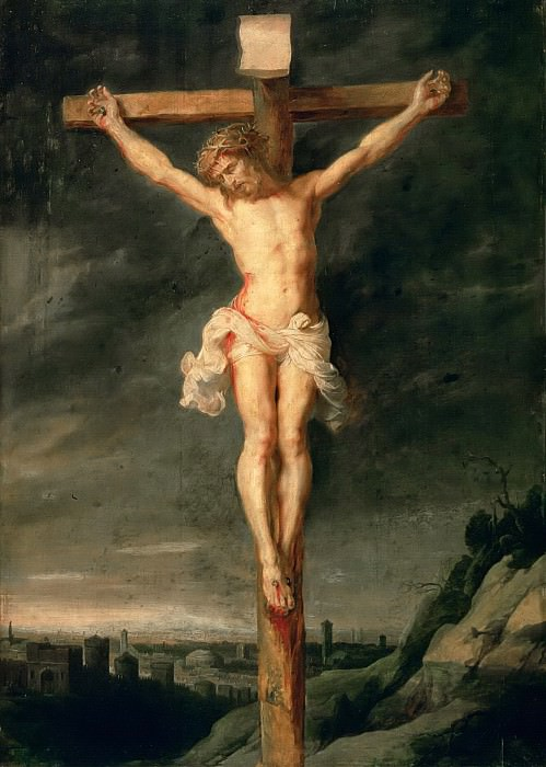 The Crucifixion (oil on canvas)Title: -- Rubens, Peter Paul (1577-1640)Primary creator:. Peter Paul Rubens