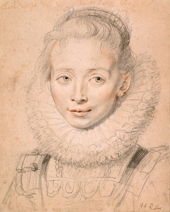 Портрет инфанты Изабеллы. Peter Paul Rubens