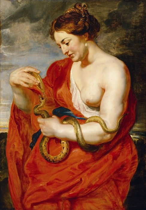 Гигиея - богиня здоровья. Peter Paul Rubens