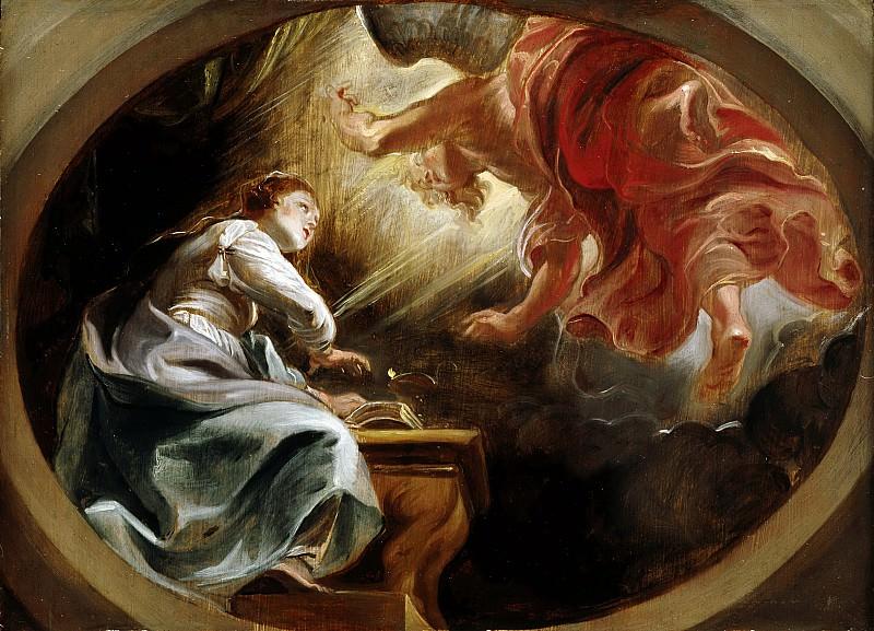 Благовещение. Peter Paul Rubens