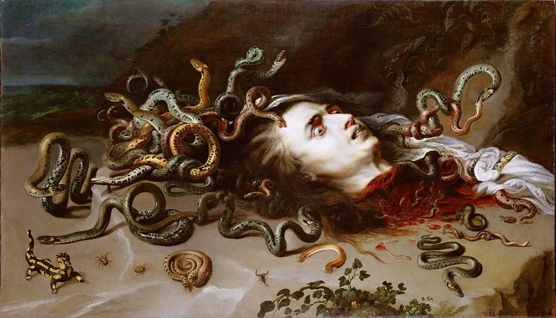 Rubens Head Of Medusa. Peter Paul Rubens