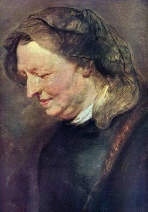 Old woman - 1616 -1618. Peter Paul Rubens