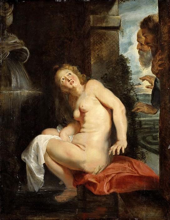 Susanna and the Elders. Peter Paul Rubens