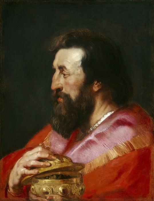 Melchior, The Assyrian King - 1618. Peter Paul Rubens