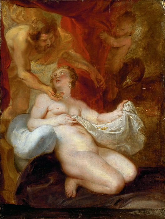 Peter Paul Rubens -- Jupiter and Danae. Peter Paul Rubens