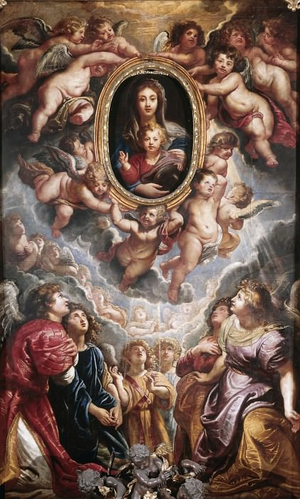 Madonna della Vallicella - 1608. Peter Paul Rubens