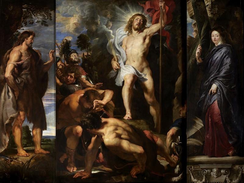 The Resurrection of Christ - 1611 -1612. Peter Paul Rubens