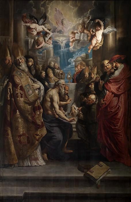 Диспут о святых таинствах. Peter Paul Rubens