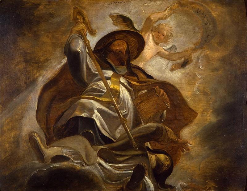 St. Athanasius -- Peter Paul Rubens Maler. Peter Paul Rubens