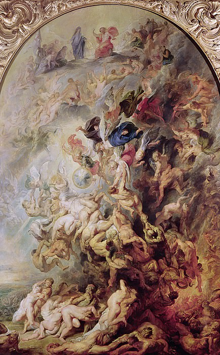 Small Last Judgement. Peter Paul Rubens