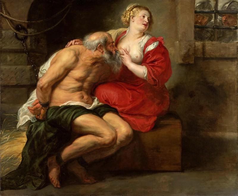 Cimon and Pero - 1630. Peter Paul Rubens