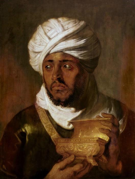 Peter Paul Rubens -- Moorish King (Melchior). Peter Paul Rubens