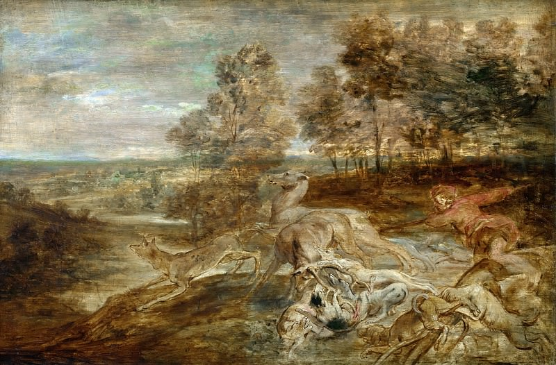 The Hunt. Peter Paul Rubens