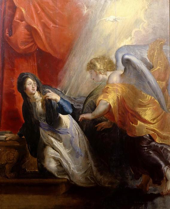 Извещение Марии о скорой смерти. Peter Paul Rubens