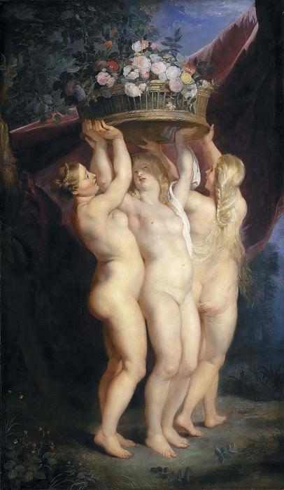 The Three Graces. Peter Paul Rubens (Workshop)