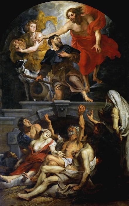 Алтарь святого Роха. Peter Paul Rubens