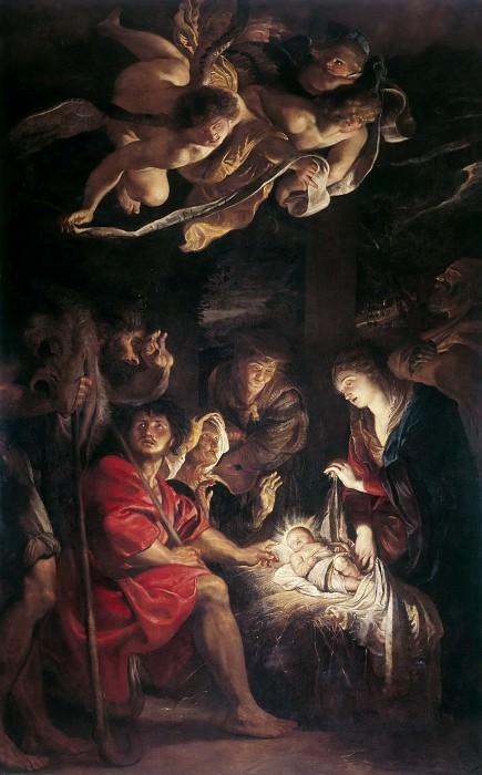 Peter Paul Rubens -- Adoration of the Shepherds. Peter Paul Rubens