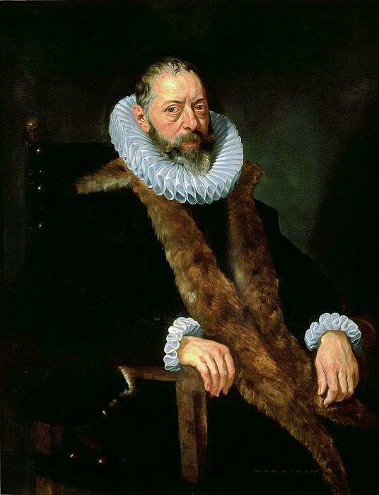 Портрет Рогира Кларисса. Peter Paul Rubens