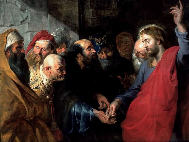 Кесарево - кесарю, Божье - Богу. Peter Paul Rubens